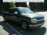 2001 Forest Green Metallic Chevrolet Silverado 1500 Extended Cab #38413355