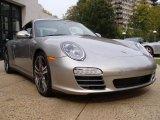 2011 Porsche 911 Arctic Silver Metallic