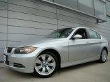 2008 Titanium Silver Metallic BMW 3 Series 335xi Sedan #38412643
