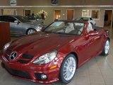 2011 Mercedes-Benz SLK Storm Red Metallic