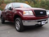 2006 Dark Toreador Red Metallic Ford F150 XLT SuperCab 4x4 #38412930