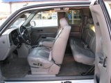 2002 Chevrolet Silverado 1500 LT Extended Cab 4x4 Graphite Gray Interior