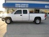 2005 Summit White Chevrolet Silverado 1500 LS Extended Cab 4x4 #38413209