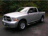 2009 Bright Silver Metallic Dodge Ram 1500 SLT Quad Cab 4x4 #38413222
