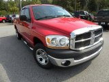 2006 Flame Red Dodge Ram 1500 ST Quad Cab #38412969