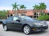 2010 Tuxedo Black Metallic Ford Fusion SE V6 #38412761