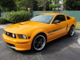 2008 Ford Mustang Grabber Orange