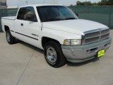 1998 Bright White Dodge Ram 1500 Laramie SLT Extended Cab #38474762