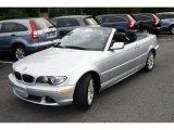 2006 Titanium Silver Metallic BMW 3 Series 330i Convertible #38474524