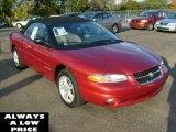 1996 Chrysler Sebring Radiant Fire Red