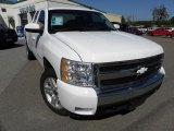 2008 Summit White Chevrolet Silverado 1500 LT Extended Cab #38474793