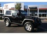 2010 Black Jeep Wrangler Rubicon 4x4 #38474274