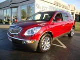 2008 Red Jewel Buick Enclave CXL AWD #38474545