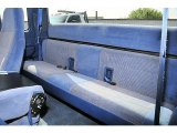 1995 Ford F250 XLT Extended Cab 4x4 Blue Interior