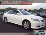 2008 Super White Toyota Camry SE #38475081