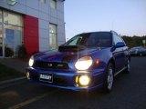WR Blue Pearl Subaru Impreza in 2002