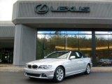 2006 Titanium Silver Metallic BMW 3 Series 325i Convertible #38475091