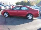 2011 Red Candy Metallic Ford Fusion SE #38474880