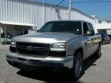 2006 Silver Birch Metallic Chevrolet Silverado 1500 LT Crew Cab #38474591