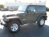 2011 Natural Green Pearl Jeep Wrangler Sport S 4x4 #38474909