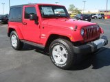2011 Jeep Wrangler Flame Red