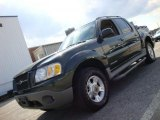 2002 Aspen Green Metallic Ford Explorer Sport Trac 4x4 #38474324