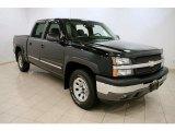 2005 Black Chevrolet Silverado 1500 Z71 Crew Cab 4x4 #38475176