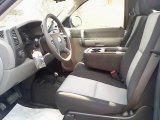 2008 Chevrolet Silverado 1500 Work Truck Regular Cab 4x4 Dark Titanium Interior