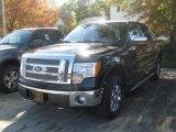 2010 Tuxedo Black Ford F150 Lariat SuperCrew 4x4 #38475234