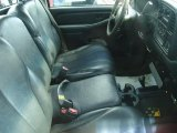 2002 Chevrolet Silverado 3500 Regular Cab 4x4 Dually Graphite Interior