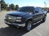 2006 Dark Blue Metallic Chevrolet Silverado 1500 Z71 Crew Cab 4x4 #38475241