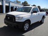 2007 Super White Toyota Tundra Regular Cab #38475243