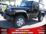 2011 Black Jeep Wrangler Sport 4x4 #38474660