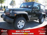2011 Natural Green Pearl Jeep Wrangler Sport 4x4 #38474662