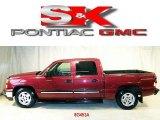2006 Sport Red Metallic Chevrolet Silverado 1500 LT Crew Cab #3839653