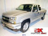 2006 Silver Birch Metallic Chevrolet Silverado 1500 Z71 Extended Cab 4x4 #3839725