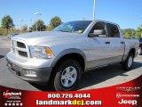 2011 Bright Silver Metallic Dodge Ram 1500 SLT Outdoorsman Crew Cab 4x4 #38474669