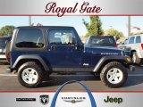 2006 Midnight Blue Pearl Jeep Wrangler Rubicon 4x4 #38474392