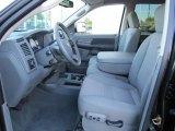 2007 Dodge Ram 3500 SLT Mega Cab Dually Medium Slate Gray Interior