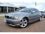 2004 Silver Grey Metallic BMW 3 Series 325i Coupe #38475004
