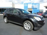2011 Black Granite Metallic Chevrolet Equinox LT AWD #38474706