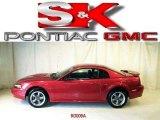 2002 Laser Red Metallic Ford Mustang GT Coupe #3839651
