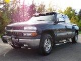 2000 Indigo Blue Metallic Chevrolet Silverado 1500 Z71 Extended Cab 4x4 #38475333