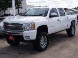2009 Summit White Chevrolet Silverado 1500 LTZ Crew Cab 4x4 #38475358