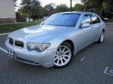 2003 Titanium Silver Metallic BMW 7 Series 745Li Sedan #38475381