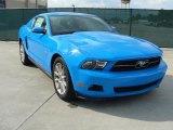 2011 Grabber Blue Ford Mustang V6 Premium Coupe #38474745
