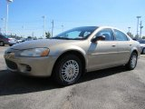 2002 Light Almond Pearl Metallic Chrysler Sebring LX Sedan #38475395