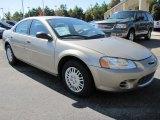 Light Almond Pearl Metallic Chrysler Sebring in 2002