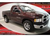 2005 Deep Molten Red Pearl Dodge Ram 1500 ST Regular Cab #38474476