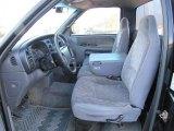 1999 Dodge Ram 1500 SLT Regular Cab Mist Gray Interior
